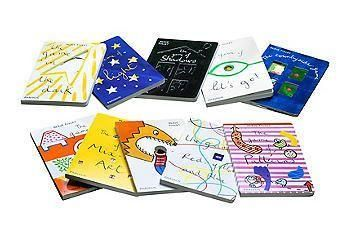 The perfect set of visual and fun books for your children to interact with.