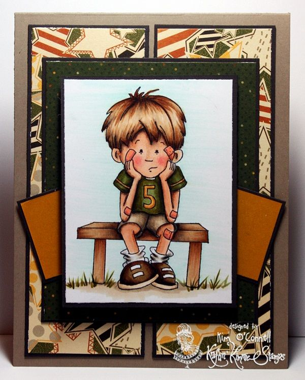 """Paper Perfect Designs by Kim O'Connell: Kraftin' Kimmie Stamps """"Love is the Best Medicine"""""""