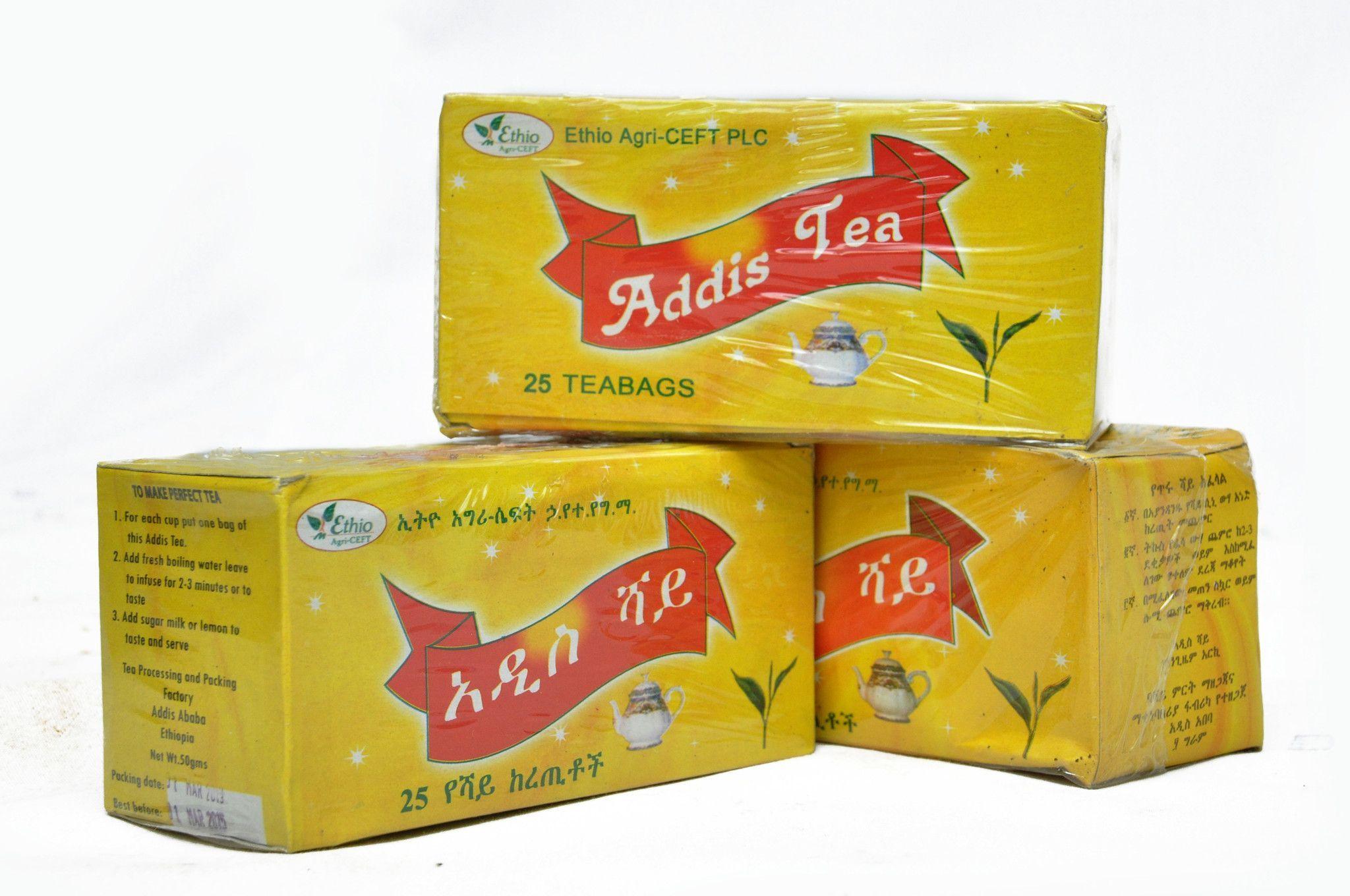 Addis Shay Ethiopian Black Tea Black Tea Tea Ethiopian