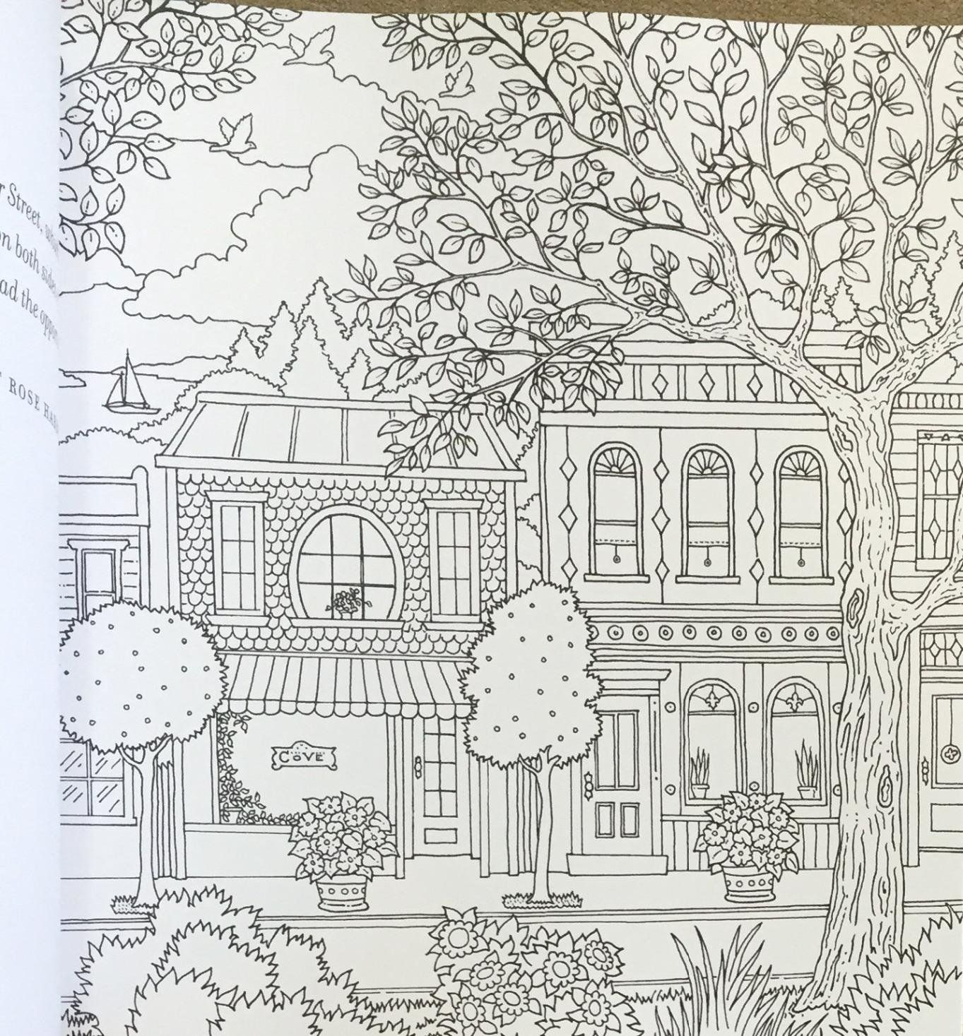 free coloring page coloring victorian interior style coloring