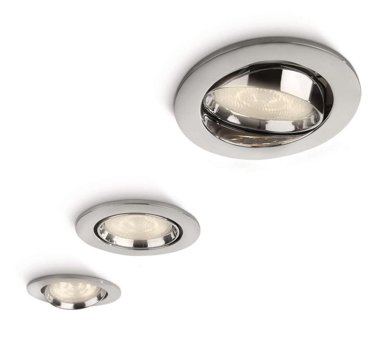 LED Einbauspot 3er Set Philips Ellipse 590301116 Einbauleuchten