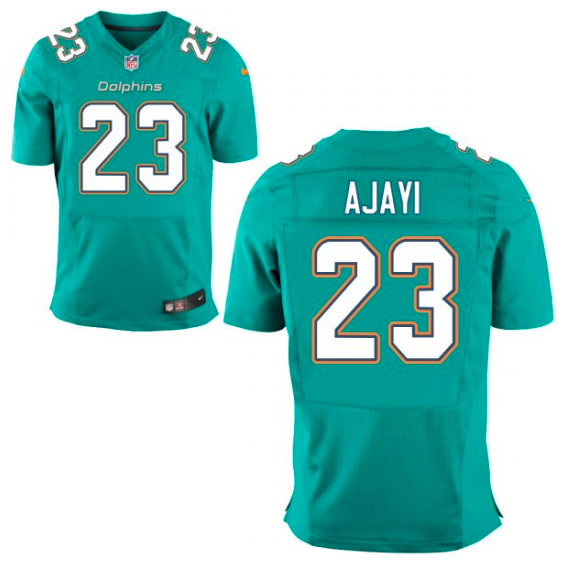 0160452b Miami Dolphins Jersey - Jay Ajayi Aqua Game Jersey | Products | Nhl ...