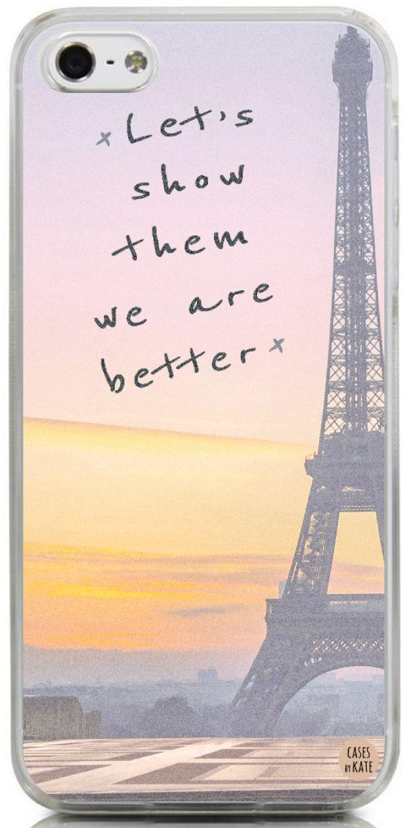 Lyric mini thin breaking down lyrics : Let's show them we are better - Paris Interchangeable Phone Case ...