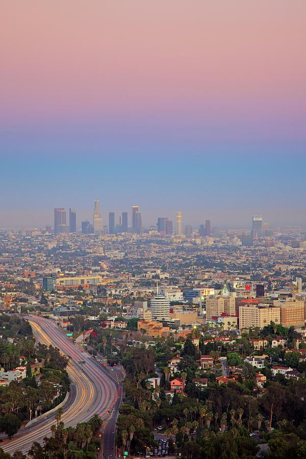 Cityscape Of Los Angeles By Eric Lo In 2020 Places To Travel Places To Go Travel