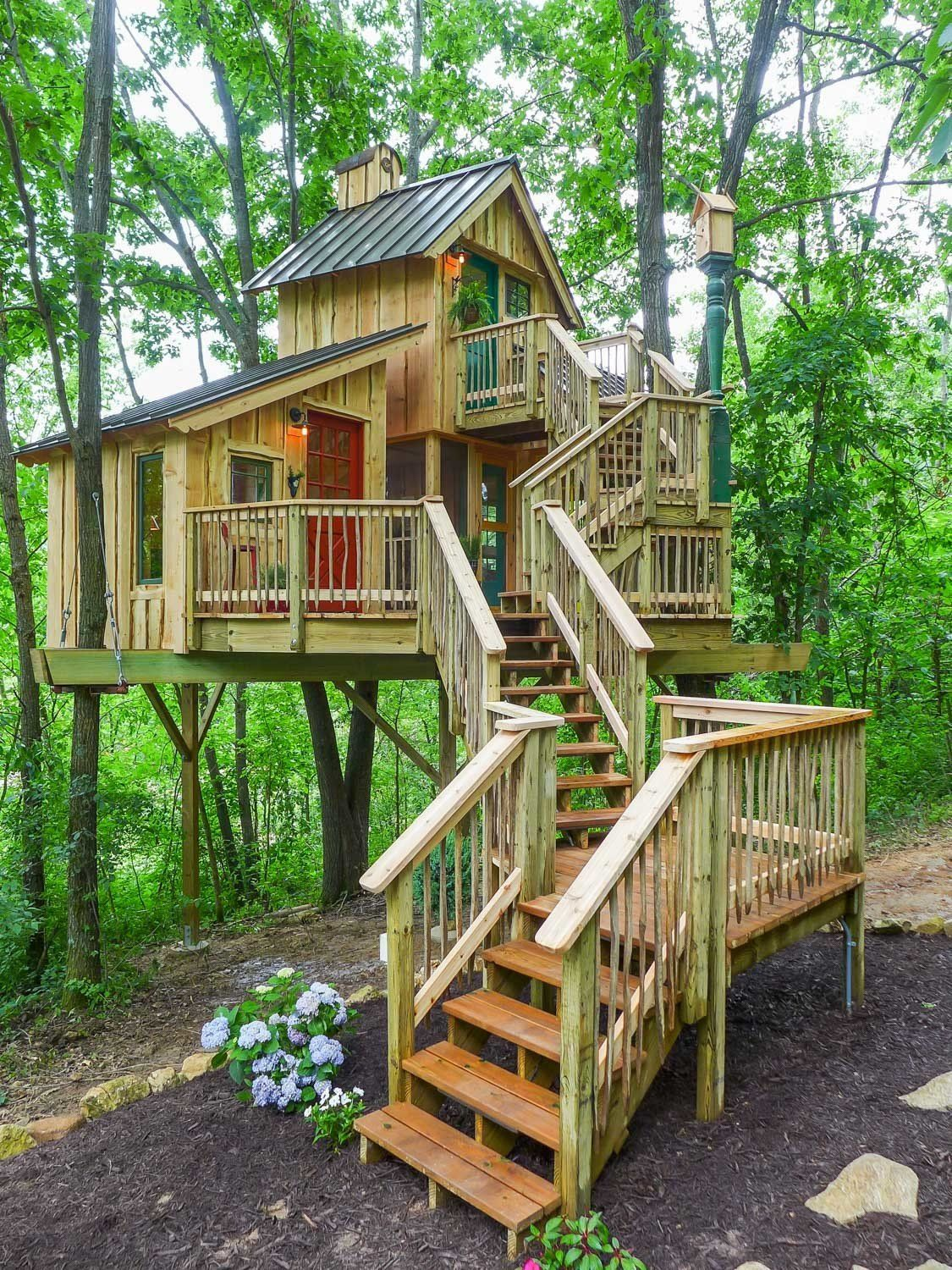 How Tree House Master Pete Nelson Built An Empire In The Woods