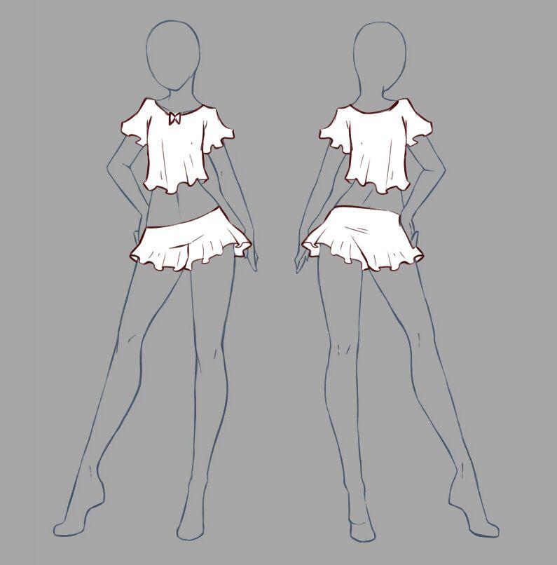 картинки манекены с одеждой рисунок перепробоал