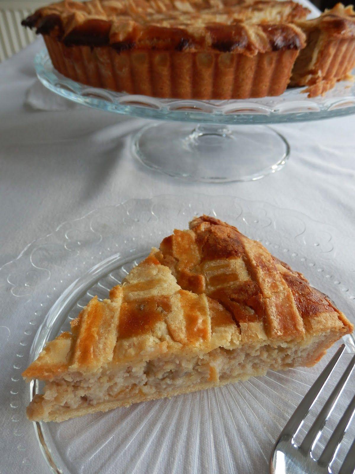 Leeks limoni easter tart love cake food