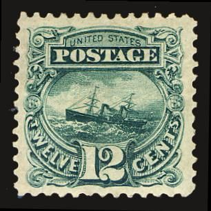 Scott# 128, 1875 12c Green, PSE XF 90, Mint OGh  http://www.collectorscorner.com/Products/Item.aspx?id=18814401  #StampForSale #PSE #MintOGh #SpecialPrinting #Stamp #Postage #TwelveCents #Philately #ScottCatalogue #StampCollector #Online #Collectible #Marketplace
