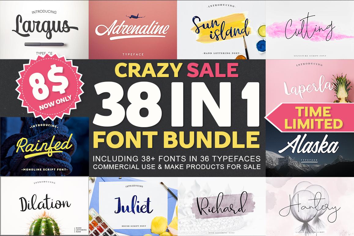 Download 38 IN 1 Font Bundle BIG SALE! | Font bundles, Font packs ...