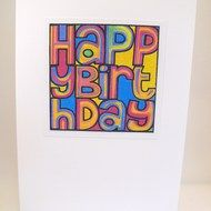 Happy Mondays inspired Birthday Card!