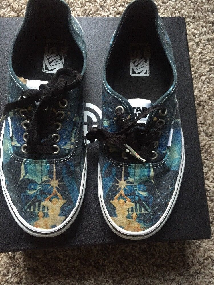 e68b8ef428 Vans Star Wars Skate Shoes Size 8.5  fashion  clothing  shoes  accessories