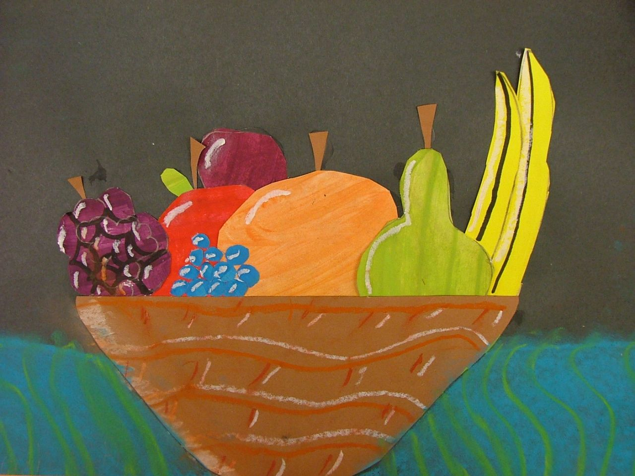 collage still life- 5th grade | Art Lessons: Elementary (3-5