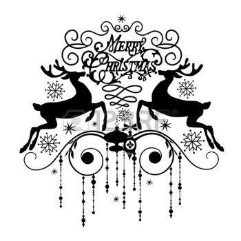 Immagini Natale In Bianco E Nero.Natale Bianco E Nero Cartolina Di Natale In Bianco E Nero