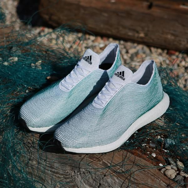 From trash to treasure: Adidas designs shoes made of ocean garbage
