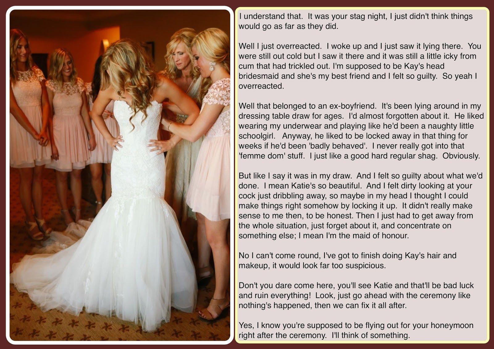Samantha Desavory S Tg Captions Bride