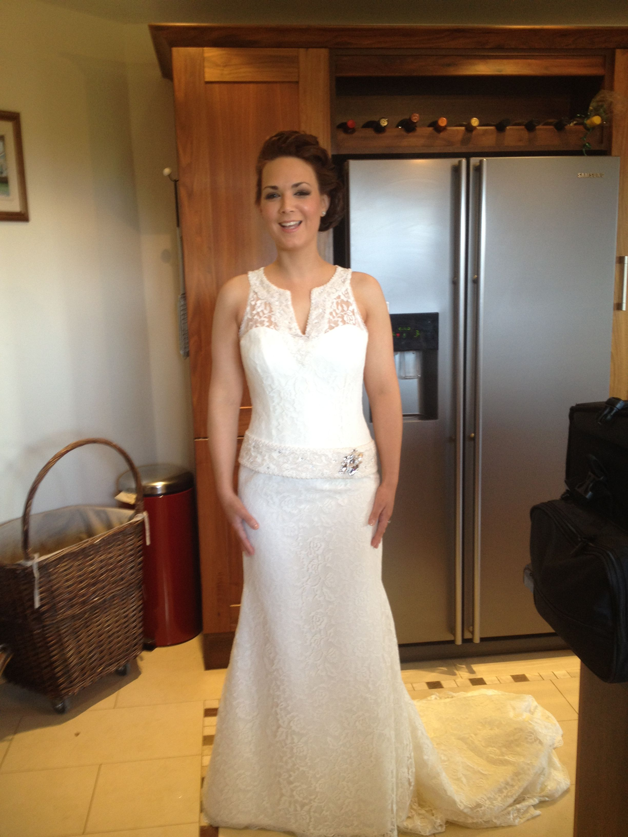Airbrushed to perfection Sheath wedding dress, Dresses