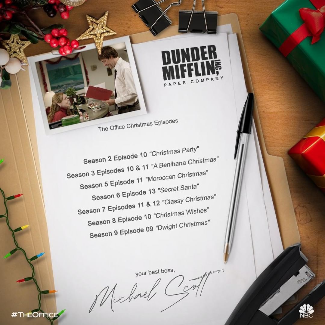 1 101 Likes 23 Comments The Office Theofficenbc On Instagram It S Our Time To Shine Wh Christmas Episodes Office Christmas Episodes Office Christmas