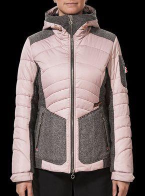 Classy women's ski jacket with hood shop