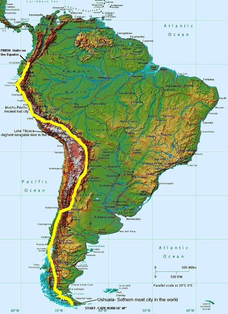 Maps Explain South America Political Isolation New Andes Mountains ...