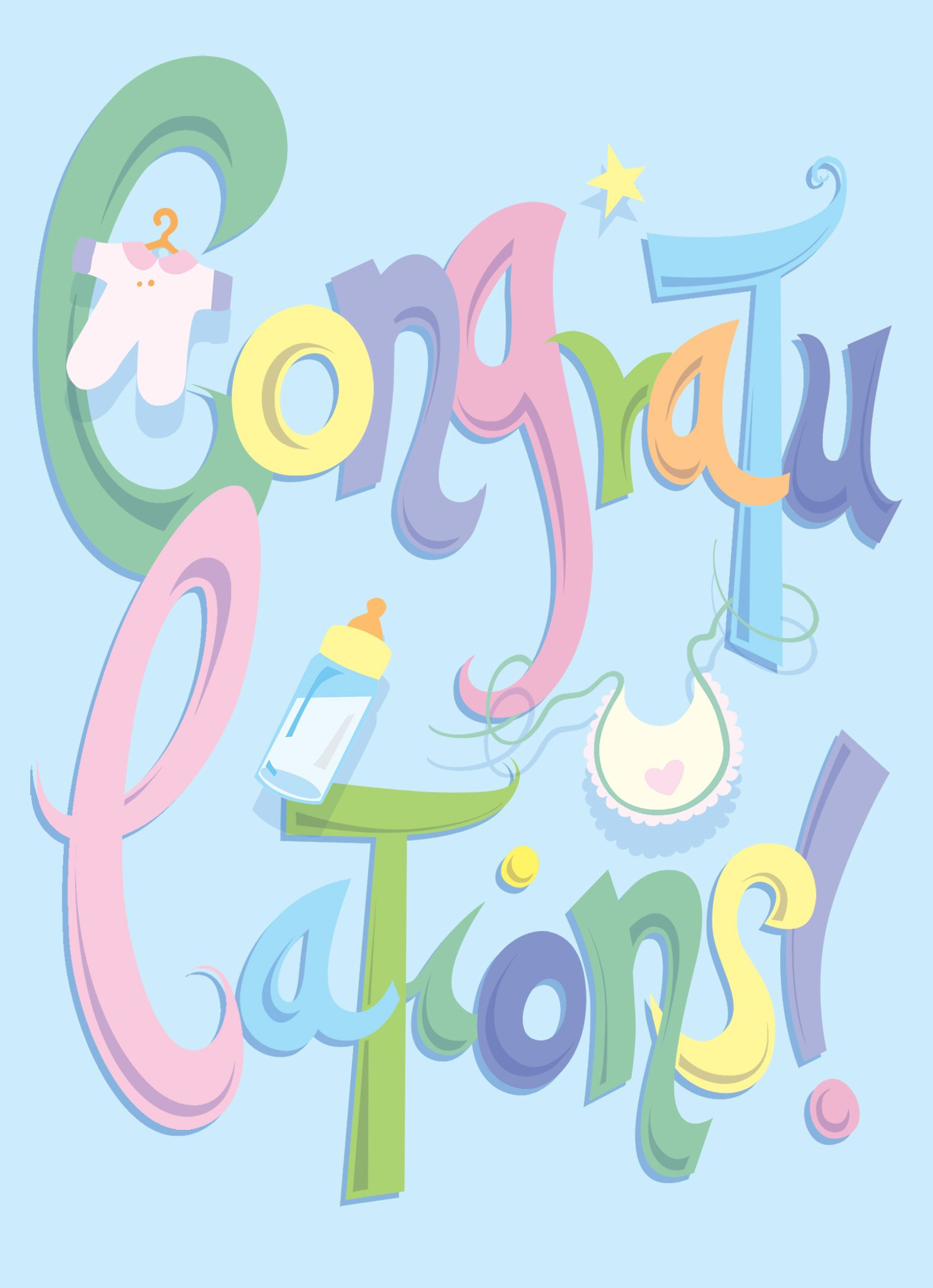Medium Of Congrats On Baby