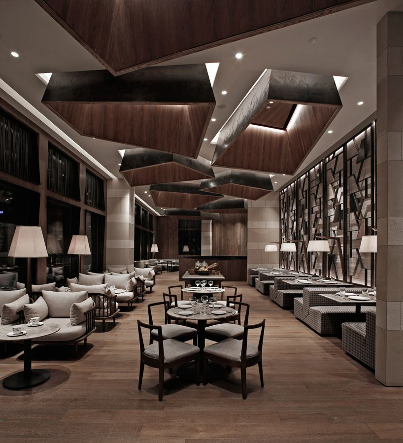 btr workshop completes simplylife flagship restaurant interiors in shenzhen wall pinterest shenzhen restaurants and interiors - Travertine Restaurant 2015