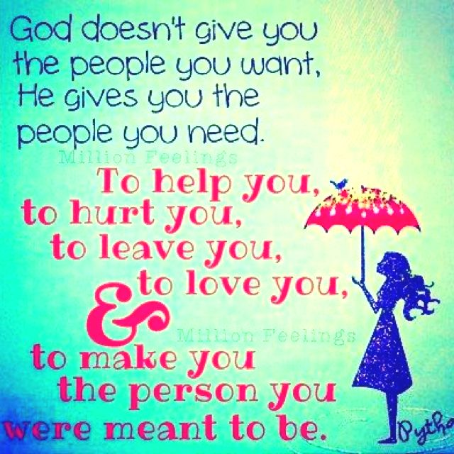 God Puts People In Your Life For A Reason Quotes Quotes Life