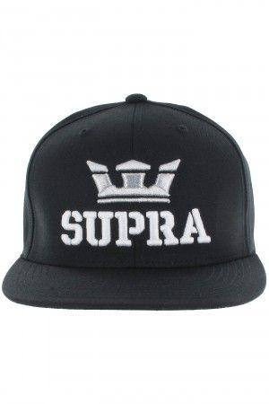 Supra Above Starter Snapback Gorra (black)  698b53f04a4