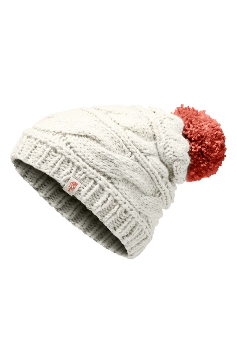 2bec3c0c2 The North Face Triple Cable Beanie at Nordstrom.com. A soft pompom ...