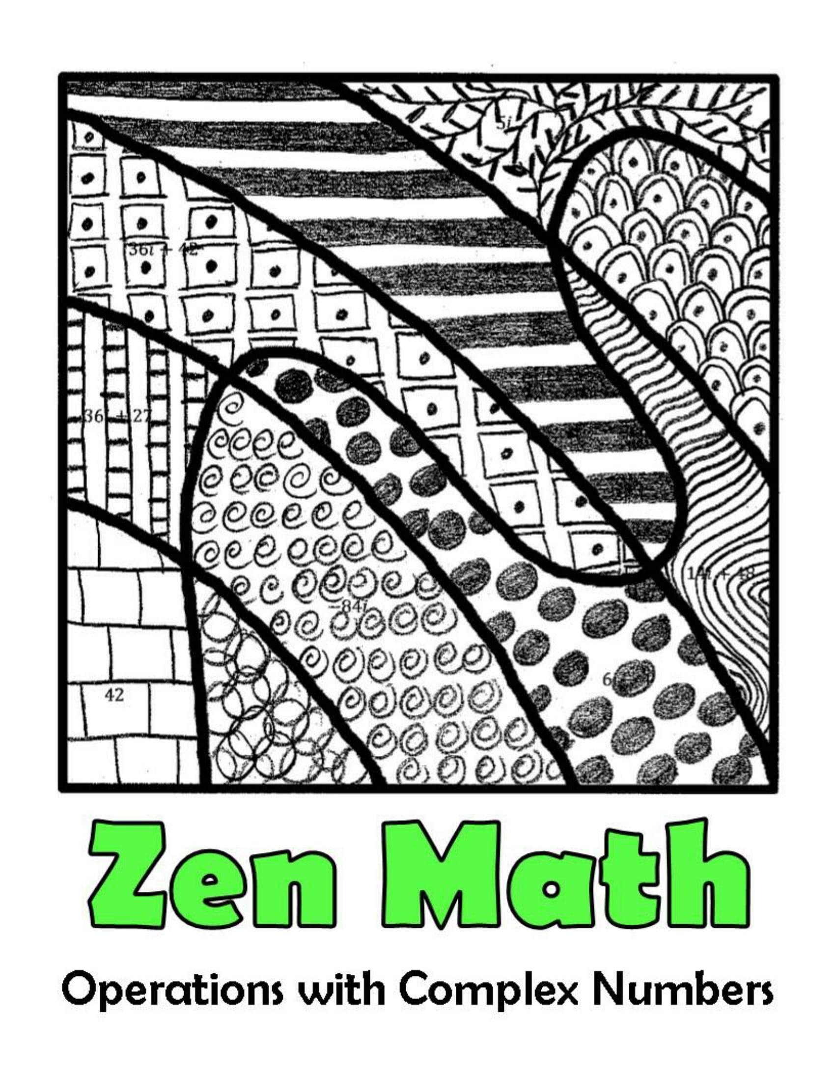 Operations With Complex Numbers Zen Math