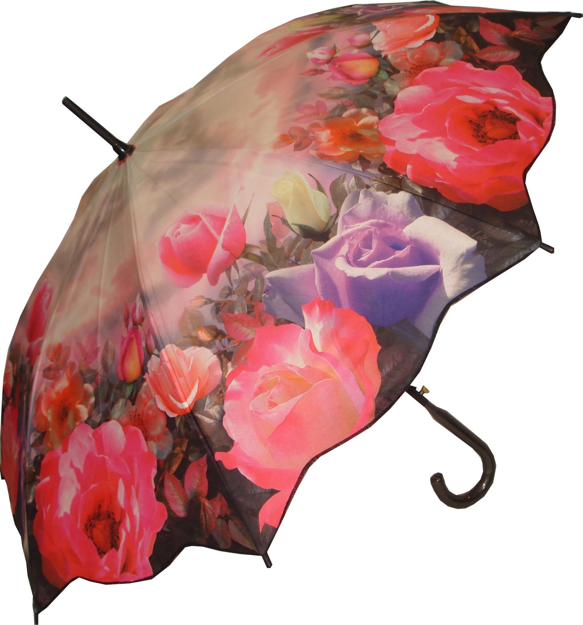Full Size Rose Garden Umbrella