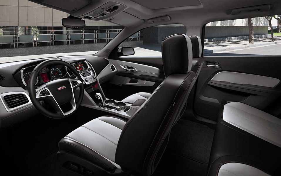 2017 Gmc Terrain Interior View