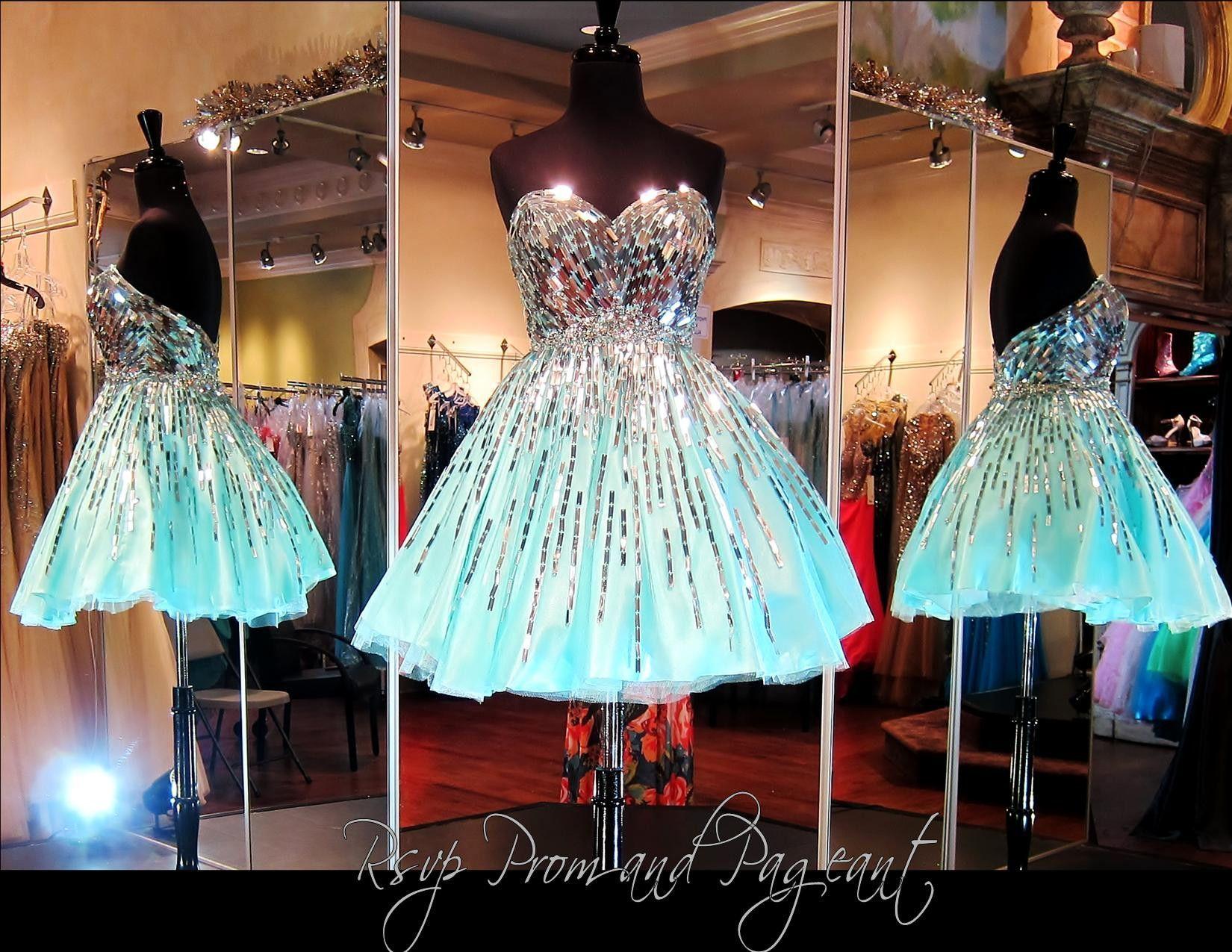 Aquasilver strapless short dress sale aqua and products