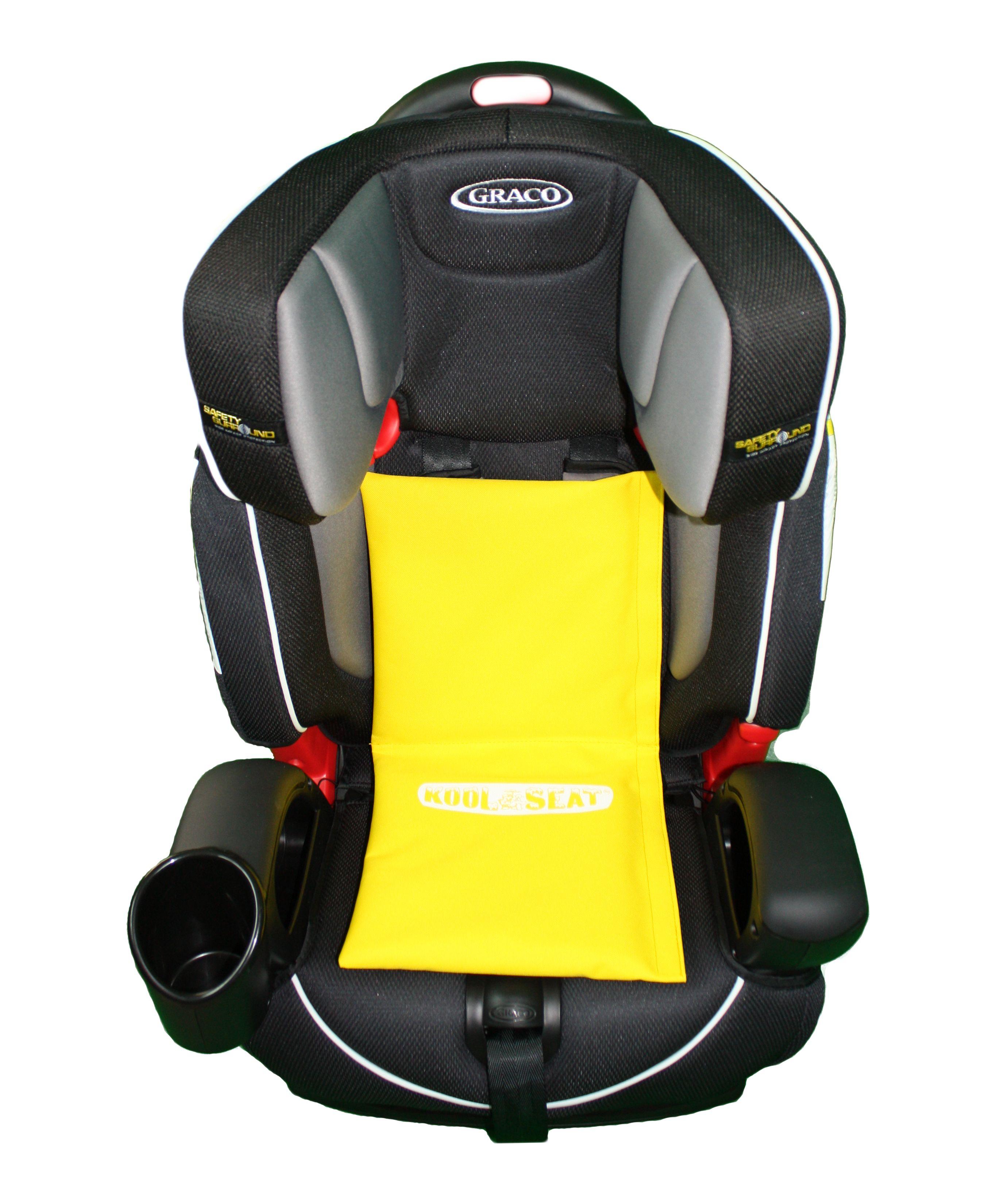 The Yellow Kool Seat Car Seat Cooler Pad Baby Car Seats Car