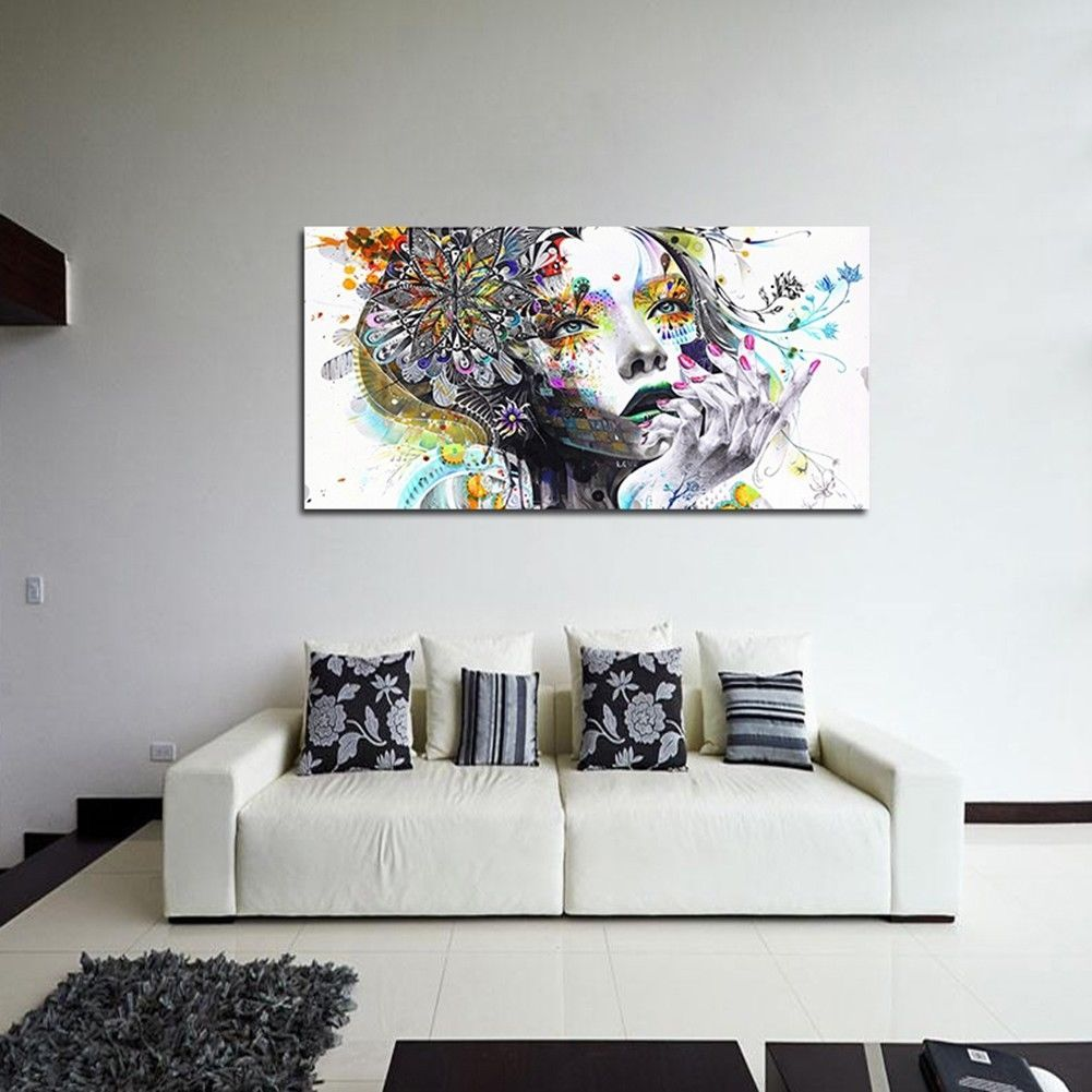 Modern abstract art oil painting canvas print picture home wall