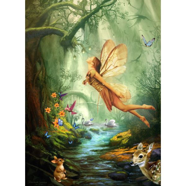 Fairy of the forest by kismet angel on polyvore featuring