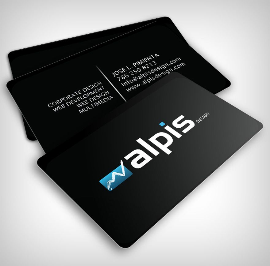 100 Refreshing Black & White Business Cards | Business cards ...