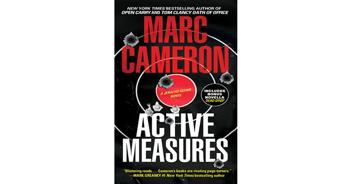 Active Measures By Marc Cameron In 2020 Page Turner Active Novella
