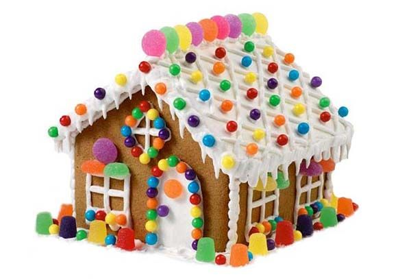 Casa dulce casita de jengibre casitas comestibles for Casa jengibre