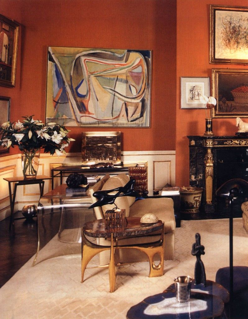 It's no surprise that Jacques Grange is such an amazing interior designer  when you find out