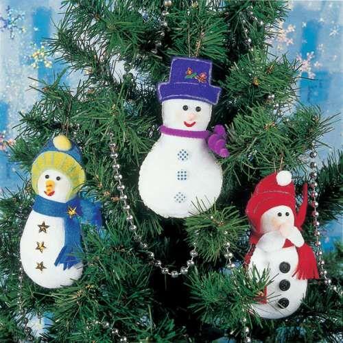rbol de navidad cmo hacer adornos de fieltro muy fciles
