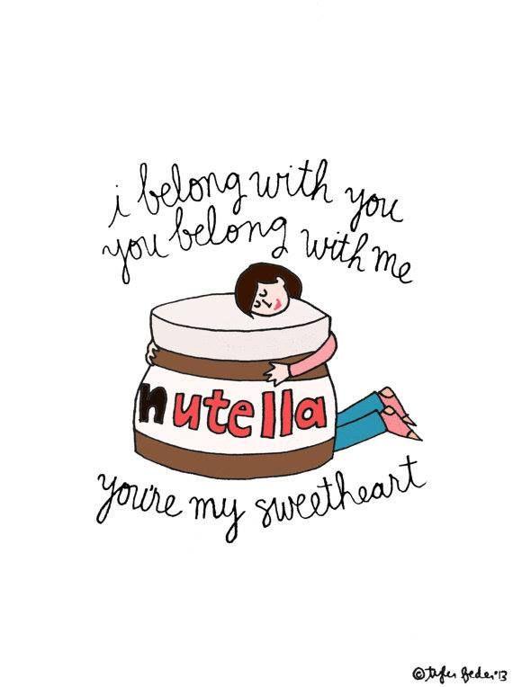 Love For Nutella Iphone 用壁紙 壁紙