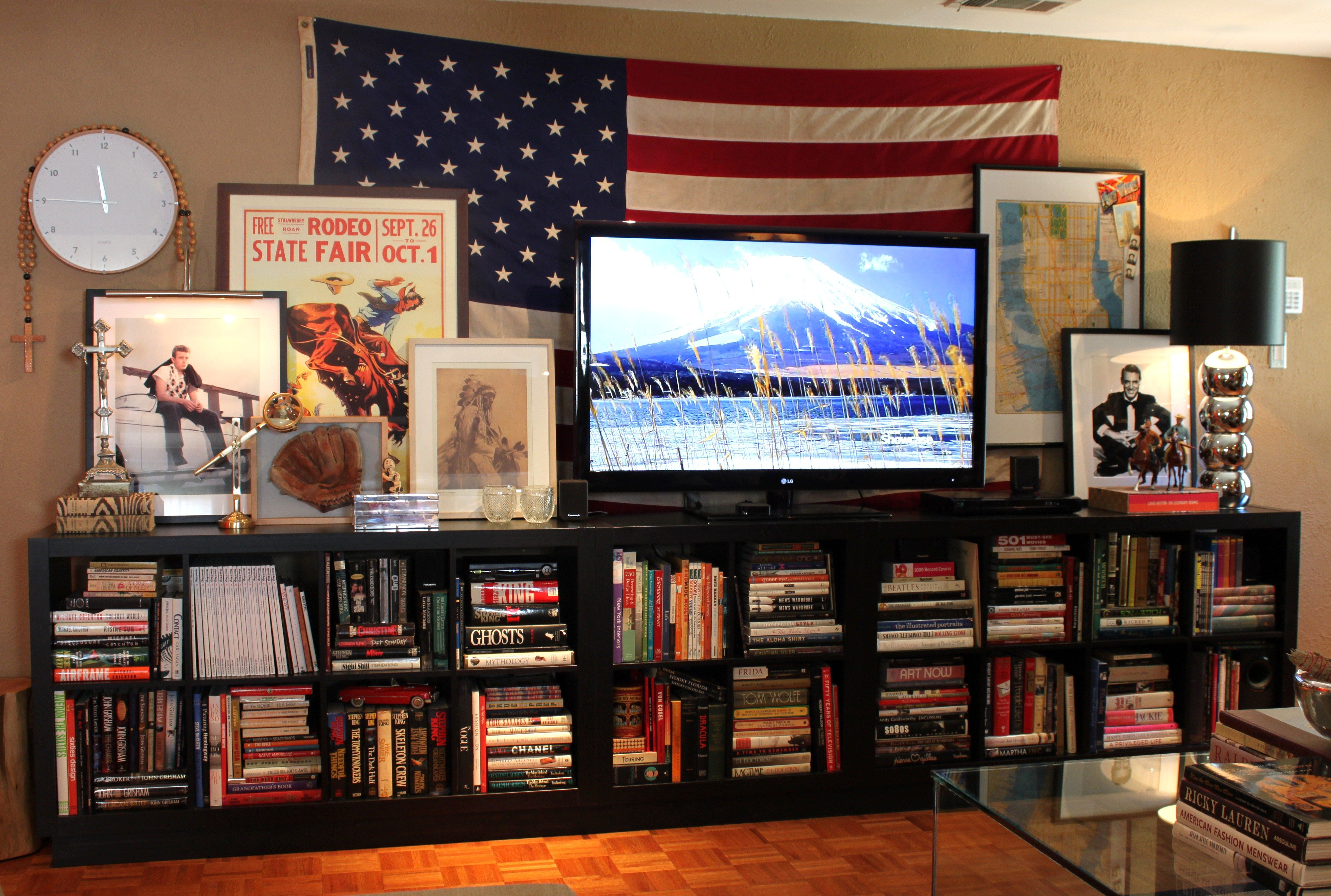 Making Space For The Tv The Cavender Diary Home House Tours