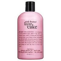 My favorite shower product it accually smells like cake while you shower.
