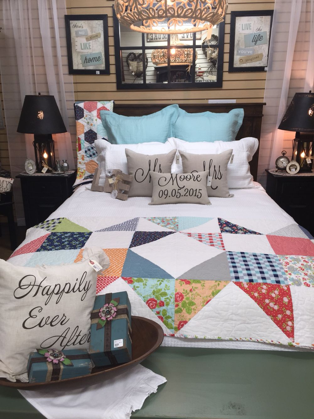New handcrafted quilts !