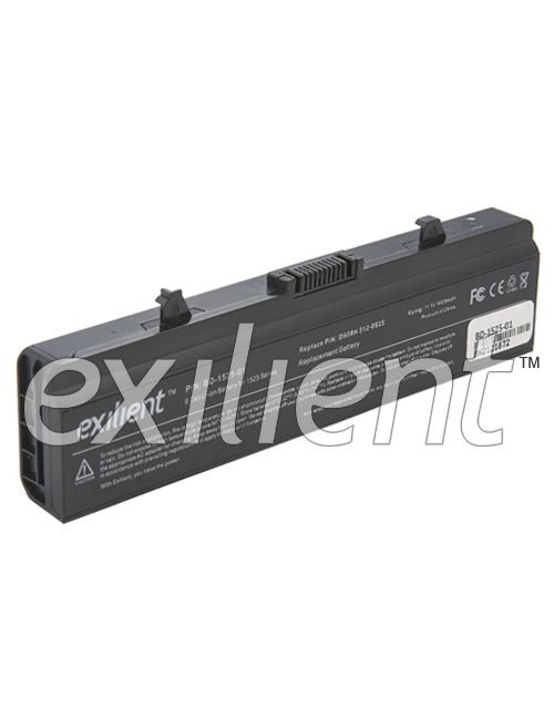 Exilient 6 Cell Li-Ion Replacement Laptop Battery Dell Inspiron 1525 1545 Series