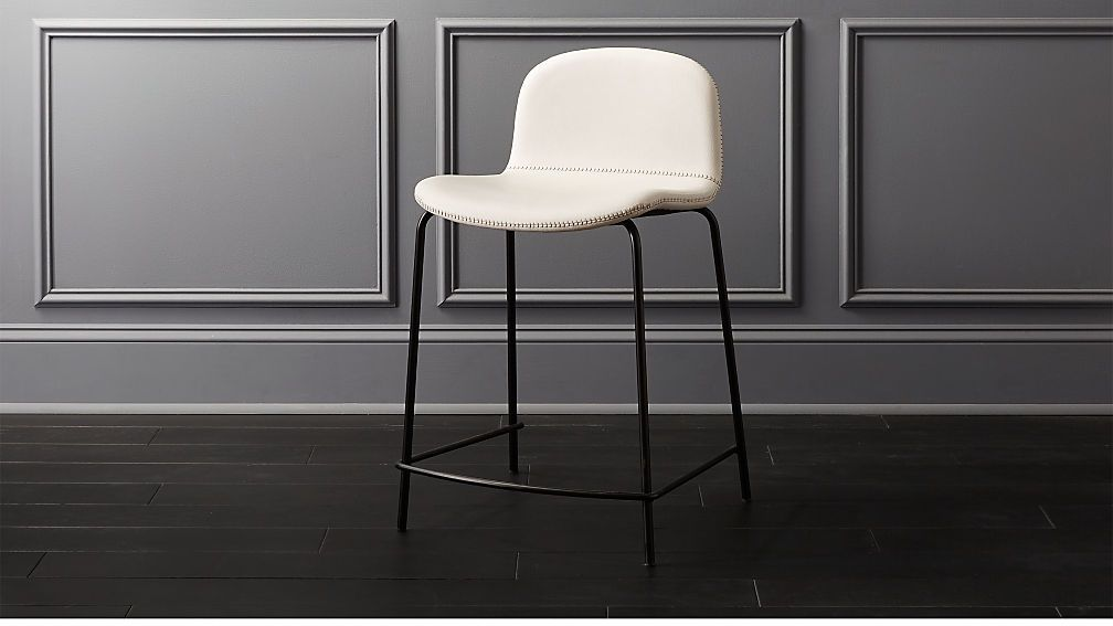 Astounding Primitivo White 24 Counter Stool In 2019 Dc Condo Pabps2019 Chair Design Images Pabps2019Com