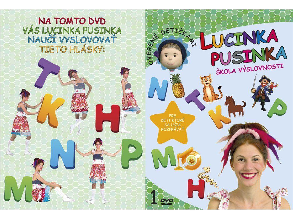 DVD Lucinka Pusinka 1 .