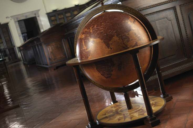 Zoffoli brand / antique style globes, bar / made in Italy/ request price on the website