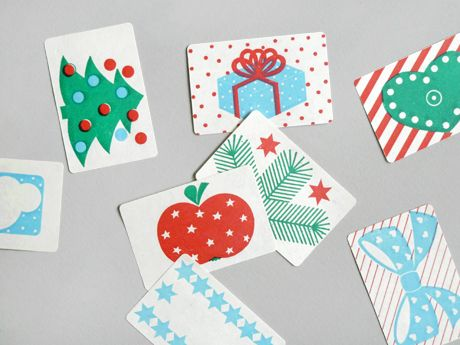 Present - Christmas labels