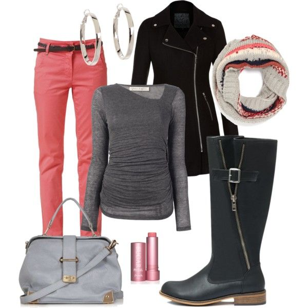 """""""Warm Color Winter"""" by jvol1052 on Polyvore"""